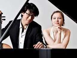 Stanislas Kim,Violoncello, Marie Rosa Günte, Klavier